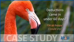 Adesso-DeductionsCameInUnder60Days-CaseStudy