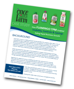 Case Study: How Flamingo TPM Enabled Visibility, Controls & Savings - Aiding Rapid Business Growth