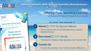 Adesso Connects with Natural-Specialty Manufacturers at NPEV
